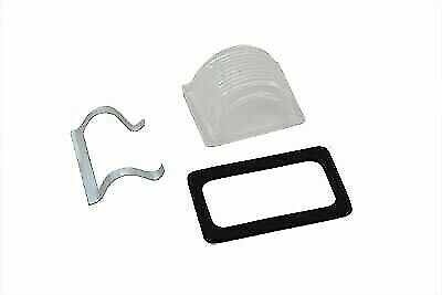 V-Twin Tail Lamp Clear Plastic Top Lens Kit For Harley Davidson  • 21.44£