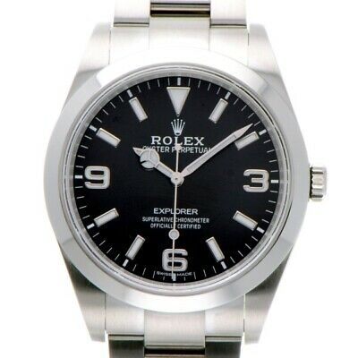 $ CDN11648.63 • Buy Free Shipping Pre-owned Rolex Explorer 214270 Black Dial Watch Self-Winding