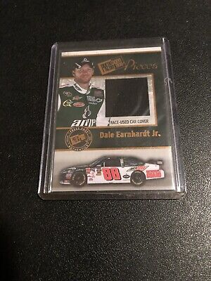 $19.99 • Buy 2009 NASCAR Press Pass Dale Earnhardt Jr Pieces Car Cover Relic Hall Of Fame HOF
