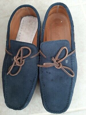£35 • Buy Dubarry Corsica Navy Suede Mens Suede Loafer Shoe 8-8.5 (42) Missing Insole