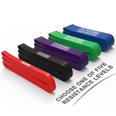 $ CDN8.50 • Buy Exercise Bands Latex Resistance Elastic Band -Pull Up Assist Bands Fitness