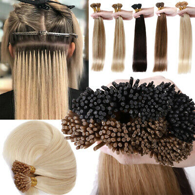 Super Thick 1G/S Russian I TIP Stick Tip Pre Bonded Remy Human Hair Extensions • 52.75£