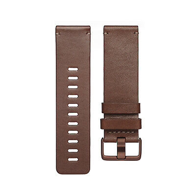 $ CDN27.72 • Buy GENUINE Fitbit VERSA Leather Band Smartwatch Sz Large,COGNAC FB166LBDBL