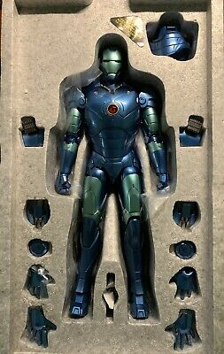 AU400 • Buy Hot Toys 1/6 Diecast IRON MAN Mark 3 Stealth MMS314D12 With Extra Base