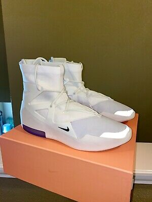 $625 • Buy Nike Air Fear Of God 1 Sail/Black Size 15 Rare Sold Out Worn 2-3X Lightly