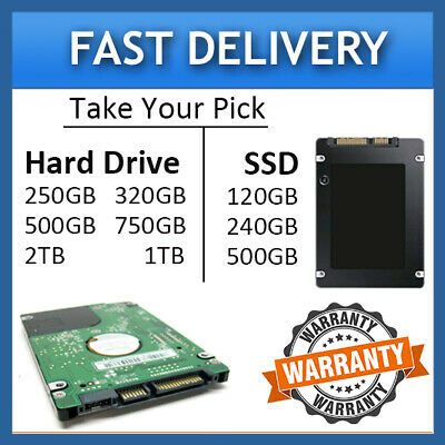 Acer EMachines G625 G627 G630 G640 G720 G725 Laptop 2.5 Hard Drive/SSD Drive • 31.99£