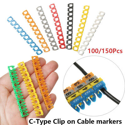 Tool Number Tag Identification Sign Tag Box Cable Labels Fiber Organizers • 4.93£