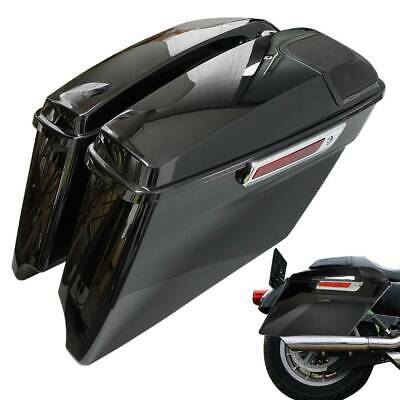 $479 • Buy 4  CVO Stretched Saddle Bags For 14-Up Harley Touring Road Glide FLHT FLHX FLHR