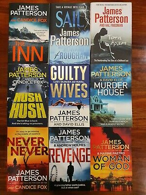 AU69.99 • Buy 9x James Patterson Books