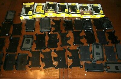 $ CDN127.16 • Buy LOT OF 40 Otter Box DEFENDER For Samsung IPHONE PELICAN Mixed Belt Clips