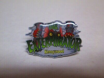 $35 • Buy Kennywood 2019 The Exterminator Roller Coaster Pin Amusement Theme Park