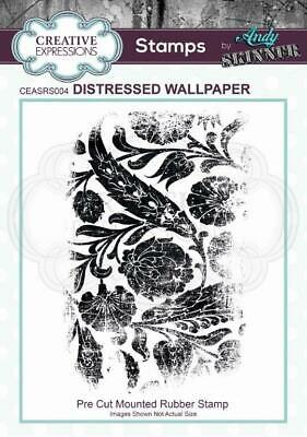 £5 • Buy Creative Expressions  Distressed Wallpaper Stamp