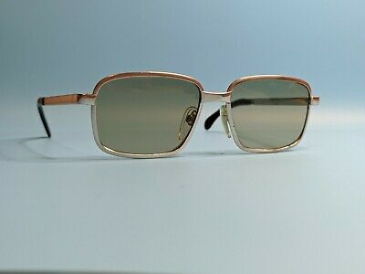 £85 • Buy Vintage Rodenstock Convent White Gold Filled Sunglasses Glass Lens Germany #647