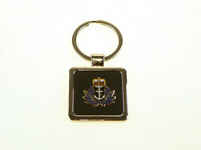WRNS Womens Royal Naval Service Deluxe Keyring With Gold Plated Badge. • 4.99£
