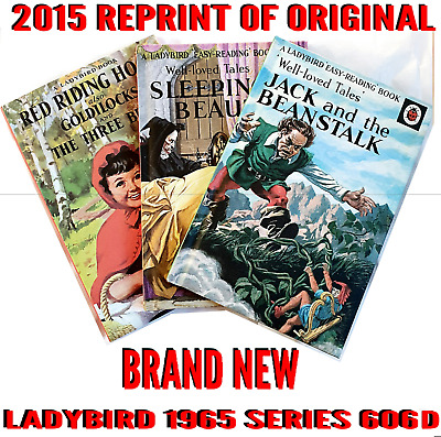 Ladybird Book, Set Of 3 Jack And The Beanstalk, Red Riding Hood, Sleeping Beauty • 7.50£