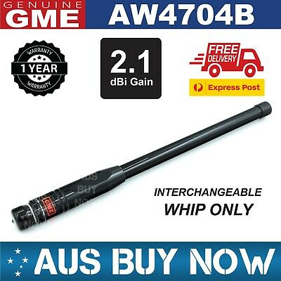AU165 • Buy New Gme Aw4704b Black Mast Whip Suit Ae4705 Ae4706 Uhf Cb Antenna Fiberglass