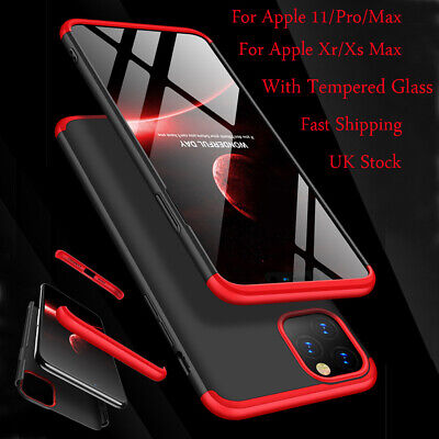 Shockproof Hard Case Cover For IPhone 6s 7 8 Plus SE XR XS MAX 11 Pro 12 Mini • 5.95£