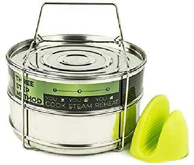 $39.12 • Buy Stackable Instant Pot Accessories - Instapot Accessory Insert Pans Ultra For Veg
