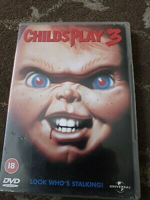 Childs Play 3 Dvd Killer Doll Chucky Horror Rated 18 • 8.99£