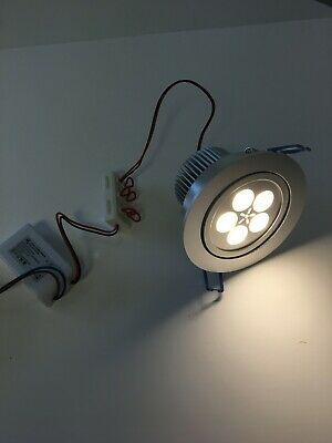 £10 • Buy  LED Ceiling Light Kit Of 1 X Warm White Downlighter With Driver (5 X 1w)