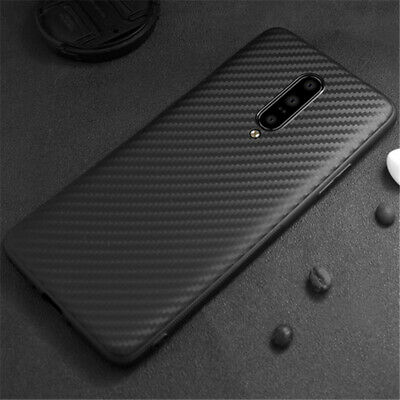 AU4.58 • Buy For OnePlus 8 7T 7 Pro 6T 5T Luxury Shockproof Carbon Fiber Soft TPU Case Cover