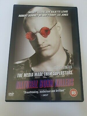 Natural Born Killers [DVD, 2001] Like New- FREE POSTAGE  • 2.50£