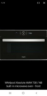 Whirlpool AWM730NB Touch Control Intergrated Built In Microwave 60cm  • 269.99£