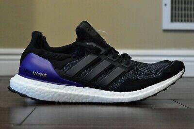 $269.99 • Buy DS Adidas Ultra Boost OG 2018  Core Black/Purple  G28319 Size 11