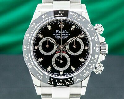 $ CDN33806.72 • Buy Rolex 116500LN Daytona Ceramic Bezel SS / Black Dial 2020 ORIGINAL BOX + PAPERS!
