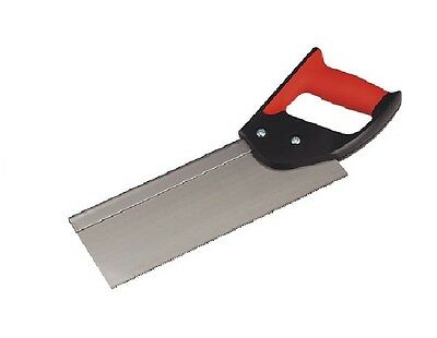 £5.95 • Buy 10  Tenon Handsaw Hand Saw Soft Rubber Grip Quality Carbon Steel Blade Diy Wood