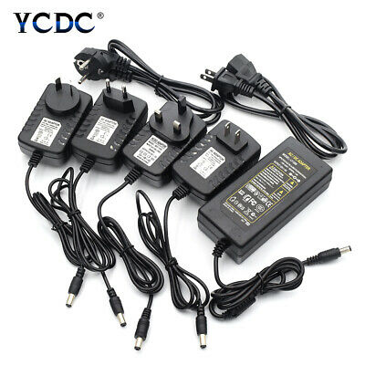 $ CDN7.33 • Buy Power Supply Adapter Transformer Charger Driver For LED Strip Lights DC 5/12/24V