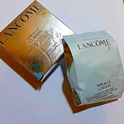 Lancome Miracle Cushion Compact Refill 420 Absolute Weightlessness & Glow 14g • 12.99£
