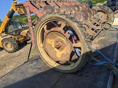 Massey Ferguson Rear Tractor Row Crop Wheel - Came Of Mf 50 Seed Drill  • 90£