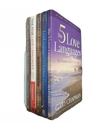 $ CDN53.69 • Buy Complete Series 6 Books THE 5 LOVE LANGUAGES OF LOVE By Gary Chapman Paperback..