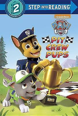Pit Crew Pups (Paw Patrol) (Step Into Reading) • 2.60£