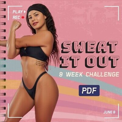 $ CDN20.41 • Buy SWEAT IT OUT Katya Wbk Thicc | WORKOUT PDF HOME OR GYM  GUIDE + EXTRAS