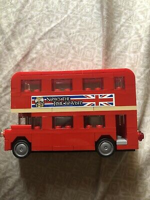 $ CDN16.59 • Buy LEGO British Double Decker Red London England Bus Complete, No Box
