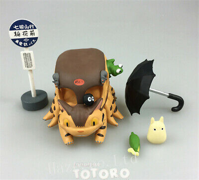 £15.47 • Buy Anime My Neighbor Totoro Cat Bus Resin Action Figure In Box Model New Great Gift