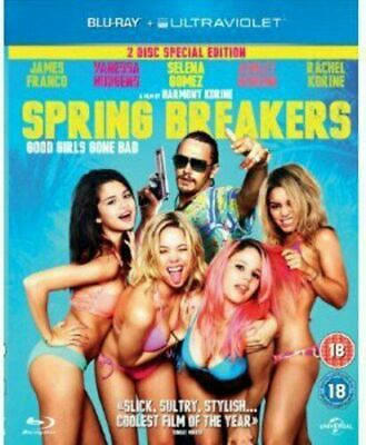 AU6.99 • Buy   Spring Breakers  (2012)   ~ James Franco ~ Blu-ray ~ Action/comedy ~ Like New