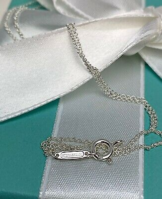 $45 • Buy Tiffany & Co. Sterling Silver 925 Chain Necklace 16in New