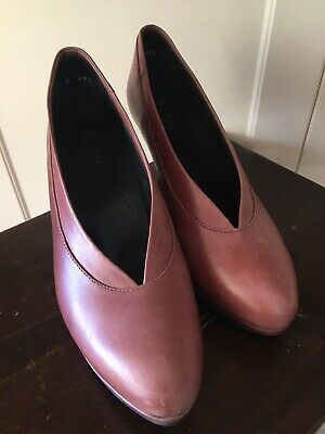 AU35 • Buy Ziera Chestnut High Heel Pumps Comfort Orthodic Size 9.5