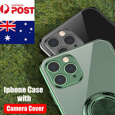 AU8.99 • Buy IPhone 11/Pro/Pro Max Shockproof With Magnetic Ring Holder Soft Slim Case Cover