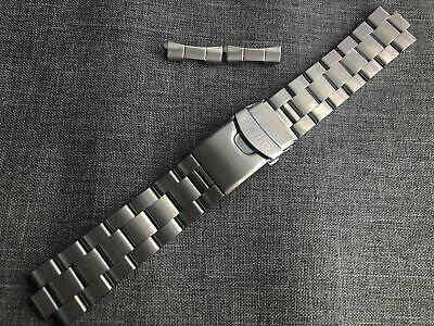 Seiko 22mm Divers Oyster Stainless Steel Watch Strap / Band Curved End • 19.99£