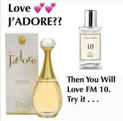 FM Perfume. Pure 10 - For J`Adore Lovers • 14.90£