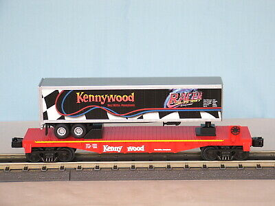$129.95 • Buy MTH 30-76190 UNCATALOGED KENNYWOOD RACER FLATCAR W/TRAILER ULTRA RARE!