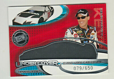 $12.95 • Buy 2005 Press Pass Eclipse UNDERCOVER CAR COVER RELIC KEVIN HARVICK 79/650 NASCAR