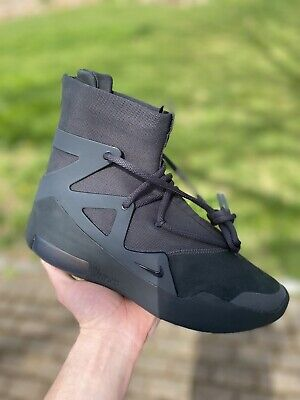 $469.99 • Buy Nike Air Fear Of God 1 Triple Black Size 12 *BRAND NEW, SHIPS SAME DAY*