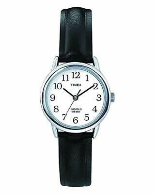 Timex Women's Easy Reader 25 Mm Leather Strap Watch T20441 • 35.99£