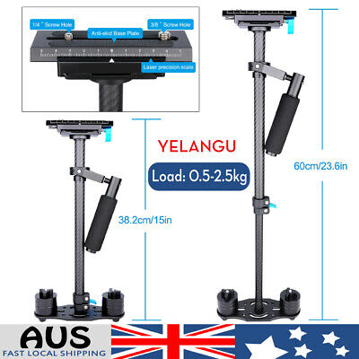 AU76.89 • Buy YELANGU S60T Handheld Gimbal Stabilizer W/ Quick Release Plate For DSLR Camera