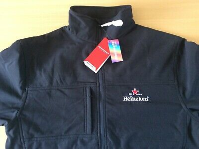 Heineken R121M Result Classic Soft Shell Jacket With Free T/shirt Both Size L • 45£